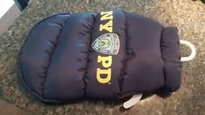 NYPD Small Dog Winter Jacket-sherbourne and wellesley