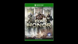 For Honor Xbox one game