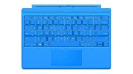 Surface Type Cover 4 - Cyan (light blue)