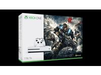 Xbox one s 1tb gears of war with extra controller