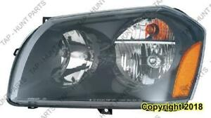 Head Light Driver Side 2.7/3.5L Dodge Magnum 2005-2007