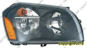 Head Light Passenger Side 2.7-3.5Ls Dodge Magnum 2005-2007