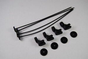 Electric-Fan-Mounting-Kit-Oil-Cooler-Transmission-Cooler-Radiator-Tie-Straps