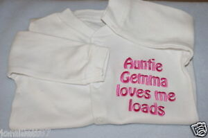 PERSONALISED-BABY-SLEEPSUIT-BABYGROW-GREAT-NEW-BABY-GIFT-ANY-WORDING