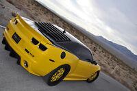 Jalousie de vitre arrière ABS prêt à peinturer, Camaro 10-14