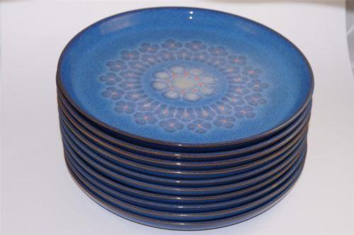 denby dinner plates ebay. Black Bedroom Furniture Sets. Home Design Ideas