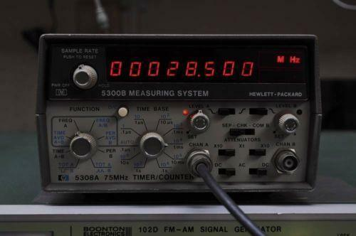 Photo Eye Frequency Counter : Hp frequency counter ebay