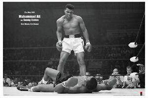 Muhammad-Ali-vs-Sonny-Liston-Horizontal-POSTER-61x91cm-NEW-boxing