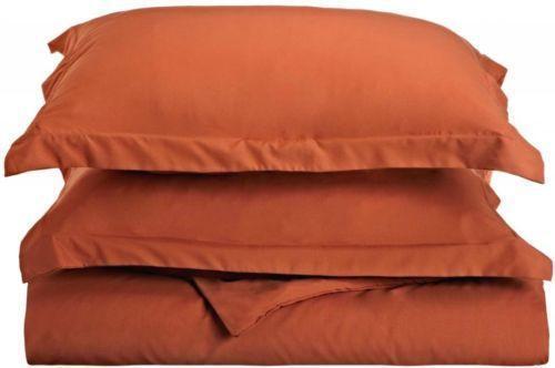 Burnt Orange Duvet Cover Ebay