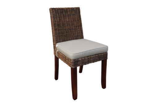 Wicker Rattan Dining Chairs EBay