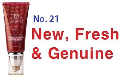 Missha M Perfect Cover BB Cream (50ml, No. 21) New, Fresh and Genuine