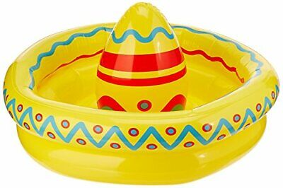 Beistle Inflatable Sombrero Cooler Party Accessory 18-Inch by 12-Inch (1 count),