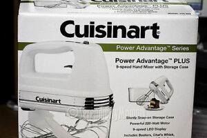 CUISINART 9-Speed Handheld Mixer - New in the box