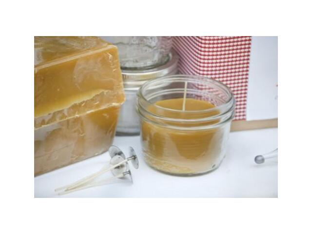 Deluxe DIY Beeswax Candle Making Kit - Make 12 Sma