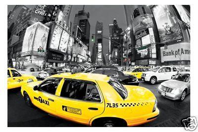 Poster NEW YORK - Rush Hour Times  NEU (56711)