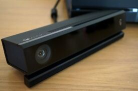 Xbox One Official Kinect 2 Sensor and Xbox One Official Chat Headset