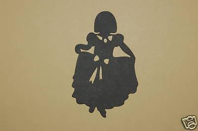 Cricut Dress Up Girl Dancing Silhouette Cardstock Die Cut/Cuts - Slash Dress Up
