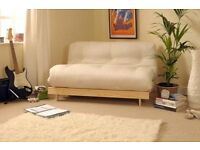 * DOUBLE FUTON SOFA BED AND MATTRESS *