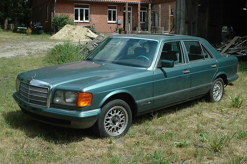 Mercedes Benz  W 126, Oldtimer
