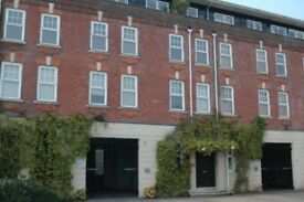 Warehouse conversion, two bedroom, second floor apartment, with secure garage space