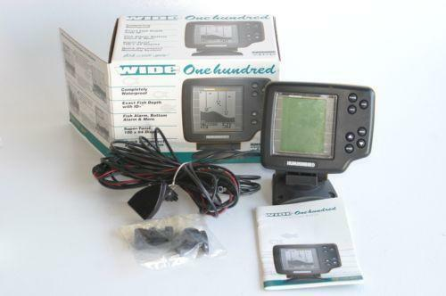 Humminbird wide 100 fishfinders ebay for Hummingbird fish finder parts