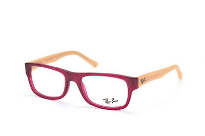 New Ray Ban Kids RB5268 5553 48mm Matte Red & Tan Frames Glasses RX Sunglasses