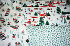 Crafts Holiday/Christmas Lot Fabric
