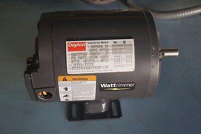Dayton 3n640a 13 Hp Electric Motor 230460v 60hz 1725 Rpm