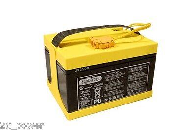 Peg Perego 24 Volt Yellow Battery IAKB0522 Authentic OEM Sup