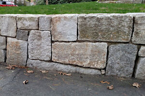 Looking for old granite foundation stones for a retaining wall