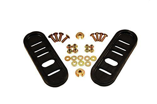 Arnold Universal Deluxe Poly Slide Shoes for Most Two-Stage Snow Throwers