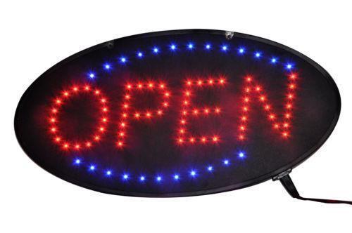 Light Up Open Sign Ebay