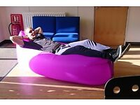 inflatable sofa - single skin high quality - great for beach camping etc