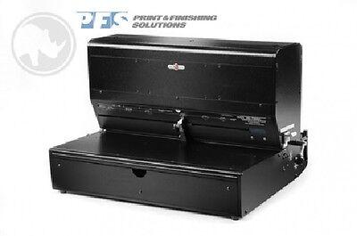 Rhin-o-tuff Onyx Hd7500h Horizontal Wire Comb Spiral Coil Punch Machine
