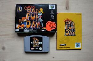 Nes min and conker bad fury day for sale in box