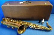 Buescher Tenor Saxophone