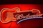 Budweiser Neon Guitar