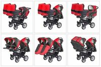 Tripple stroller with 3 bassinets - Trippy BabyActive - NEW