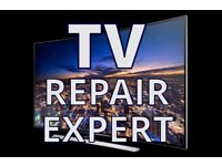 TV REPAIR SPECIALIST,NO FIX NO FEE,REPAIR SAMSUNG,LG,PANASONIC,SONY EVEN REPLACE BROKEN SCREEN