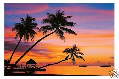 Poster PLANET EARTH - Maledives Evening  NEU  56912