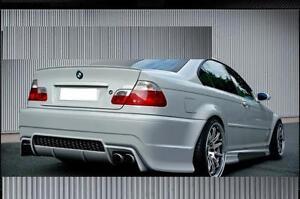 COUPE Boot lip spoiler BMW E46 CI 1998-2006 UK seller Assie Seller