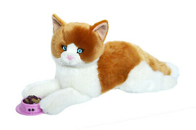 Kingdom Kuddles Peaches Plush Orange Tabby Cat- 19 Inch Plush Kitten Cat