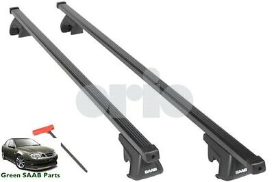 Roof Rack Cross Bars Set For SAAB 9-3 1998-2012 WITH Fix Point Mounting