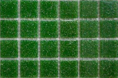 225 Matte Dark Peach Vitreous Glass Mosaic 20mm Tiles A86