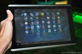Acer 10inch android tablet