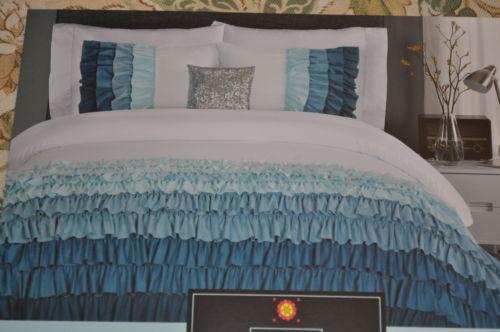 Cynthia Rowley Ruffle Bedding Ebay