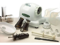 Best quality Omega single auger juicer 8004 white - coming with full accessories, fitness & health