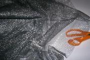 Silver Net Fabric