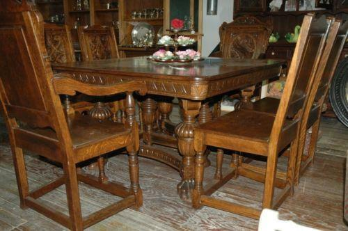 1920 39 s furniture ebay for Dining room tables 1940s