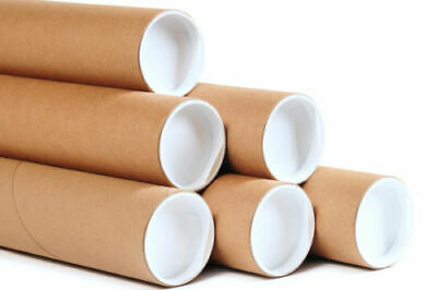 A3 Postal Tube Packing Tube + End Caps Cardboard Tube (COLLECTION ONLY)